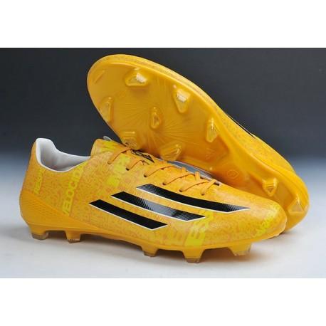 adidas f50 jaune,chaussure foot pas cher