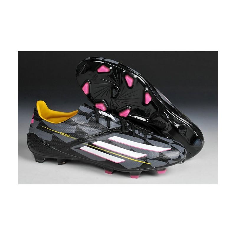 2015 Adidas Chaussures de foot F50 Adizero Messi TRX FG SYN Noir Blanc