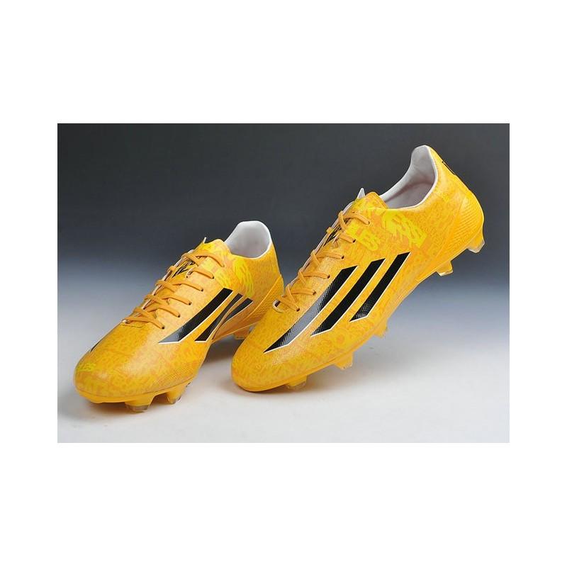 adidas f50 noir jaune