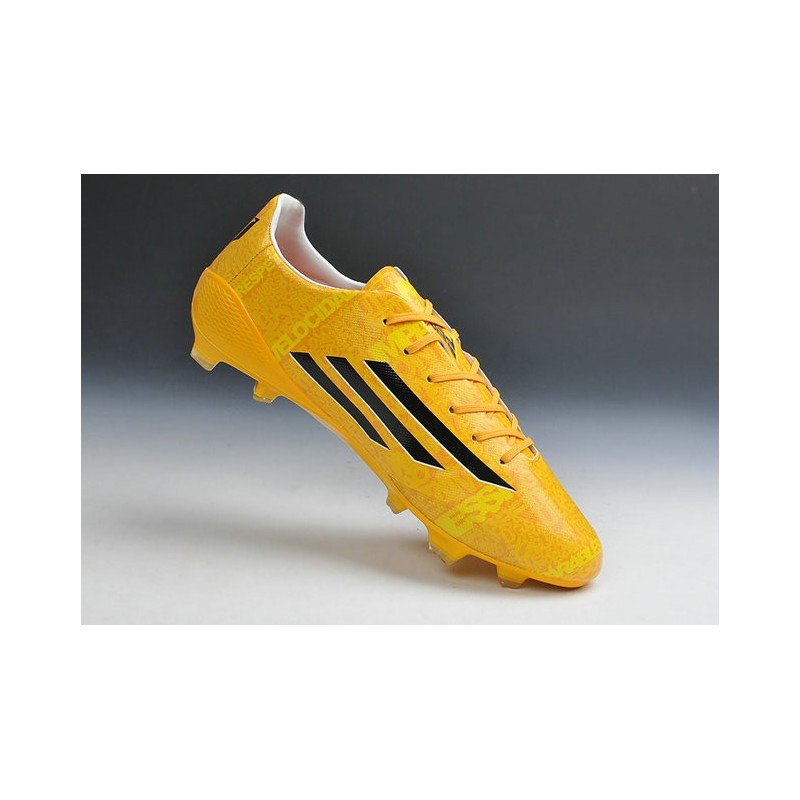 new concept 1130a 5aa05 ... adizero f50 trx fg syn messi chaussures football homme adidas neuf noir  jaune