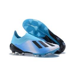 Nouvelles - Chaussures Football adidas X 18+ FG - Bleu Noir