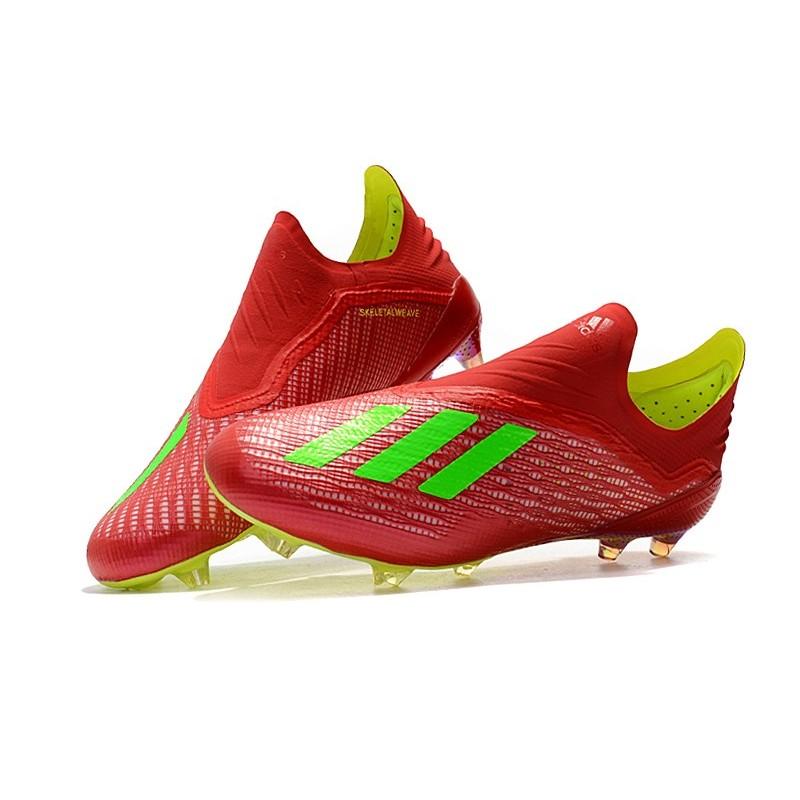 wholesale dealer c3deb 377e6 ... Nouvelles - Chaussures Football adidas X 18+ FG ...