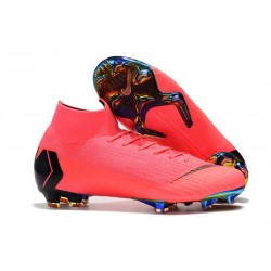 Crampons pour Hommes Nike Mercurial Superfly VI 360 Elite FG Rose