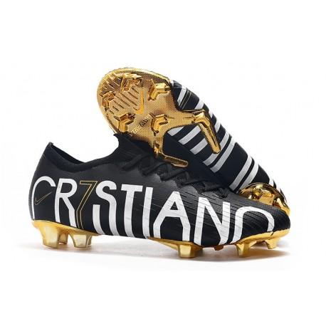 Crampons Nouveau Cristiano Ronaldo CR7 Nike Mercurial Vapor 12 Elite FG ACC