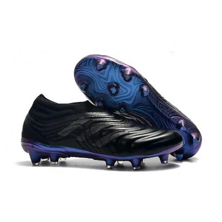 Chaussures De Football Adidas Copa 19+ FG Noir Bleu