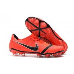 Chaussure de Foot Nike Phantom VNM Elite FG Rouge Noir