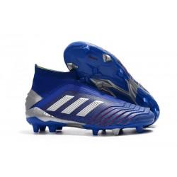 adidas Chaussure Neuf Predator 19+ FG - Bleu Argent