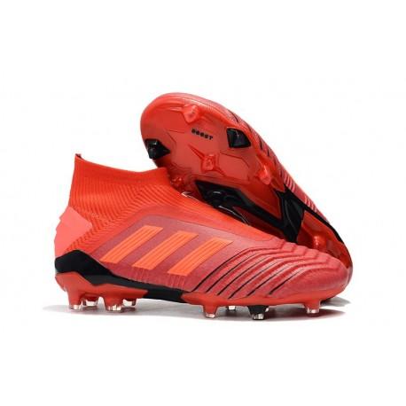 adidas Chaussure Neuf Predator 19+ FG - Rouge