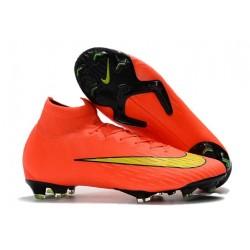 2015 Nike Mercurial Superfly 4 FG Crampons de Football Punch Or Noir