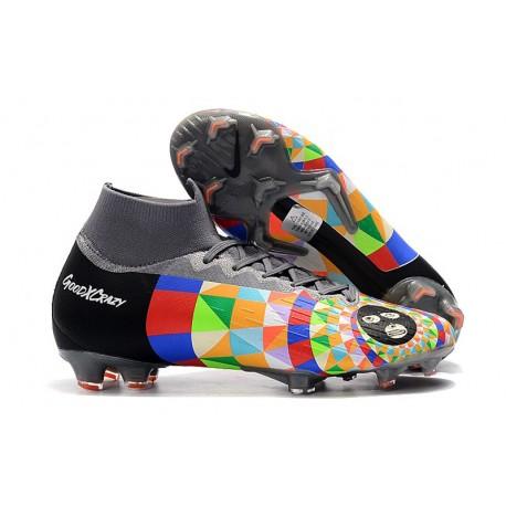 Dani Alves Nike Nouveau Chaussures Mercurial Superfly 6 Elite FG
