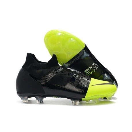 Nike Chaussures Mercurial GreenSpeed 360 FG - Noir Vert