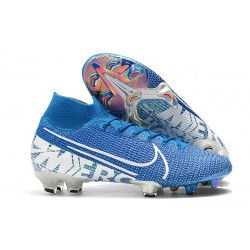 Nike Mercurial Superfly VII 360 FG Chaussures - New Lights Bleu