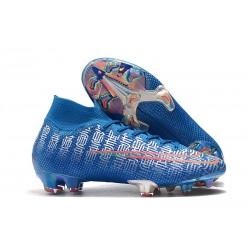 Nike Mercurial Superfly VII 360 FG Chaussures - Ronaldo Shuai Bleu