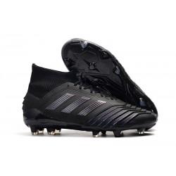 Chaussures Football Adidas Predator 19.1 FG Noir
