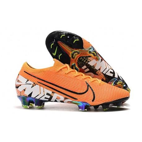 Crampons Nike Mercurial Vapor 13 Elite FG - Orange