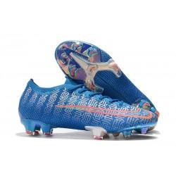 Crampons Nike Mercurial Vapor 13 Elite FG - Bleu Rouge