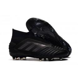 Crampons de Foot adidas Predator 19+ FG - Noir