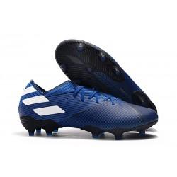 adidas Nouveau Chaussures Nemeziz 19.1 FG - Bleu Blanc
