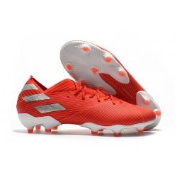 adidas Nouveau Chaussures Nemeziz 19.1 FG - Rouge Argent