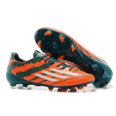 Adizero Blanc Vert Orange Trx Chaussures Football Adidas Nouveau Fg F50 Syn Homme D9HIYWE2