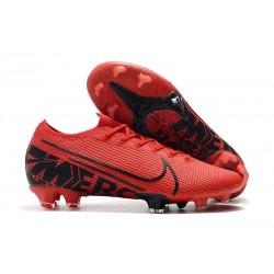 Crampons Nike Mercurial Vapor 13 Elite FG - Rouge Noir