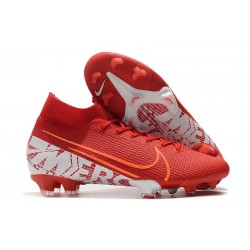 Nike Mercurial Superfly VII 360 FG Chaussures - Rouge Blanc