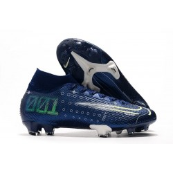 Nike Dream Speed Mercurial Superfly VII 360 FG Bleu Blanc