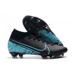 Nike Mercurial Superfly VII 360 FG Chaussures - Noir Bleu