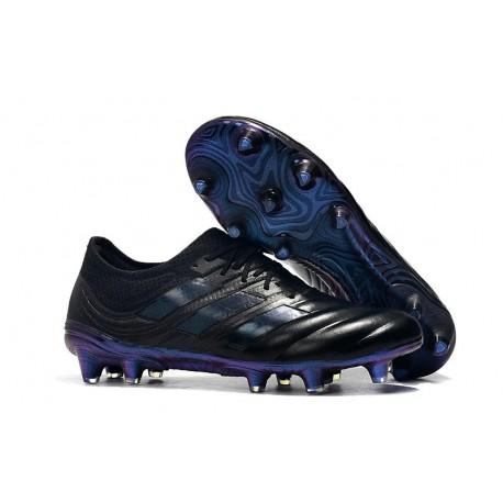Nouvelles Crampons de Foot - Adidas Copa 19.1 FG Noir