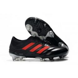 Nouvelles Crampons de Foot - Adidas Copa 19.1 FG Noir Rouge