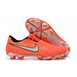 Chaussure de Foot Nike Phantom VNM Elite FG Mangue claire/Blanc