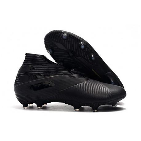 Crampons Nouvelle adidas Nemeziz 19+ FG Noir