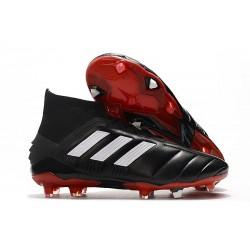 Chaussures Football adidas Predator Mania 19.1 FG ADV Noir Blanc