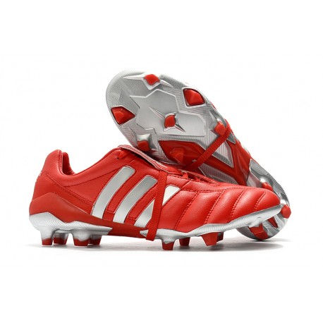 Nouvelles Chaussures Adidas Predator Mania Og FG Rouge Argent