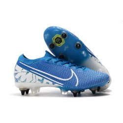 Nike Mercurial Vapor XIII Elite SG-PRO AC New Lights Bleu Blanc