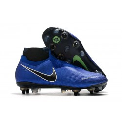 Nike Phantom Vision Elite Df Sg-Pro Ac Bleu Chrome Blanc