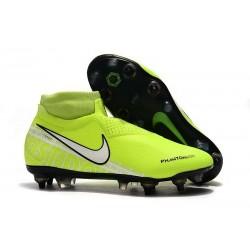 Nike Phantom Vision Elite Df Sg-Pro Ac Vert Blanc