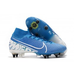 Nike Mercurial Superfly VII Elite SG-PRO AC New Lights Bleu Blanc