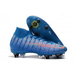 Nike Mercurial Superfly VII Elite SG-PRO AC Bleu Rouge