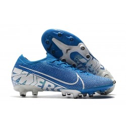 Nike Mercurial Vapor 13 Elite Pro-AG New Lights Bleu Blanc