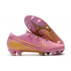 Nike Mercurial Vapor 13 Elite FG Homme Rose Or