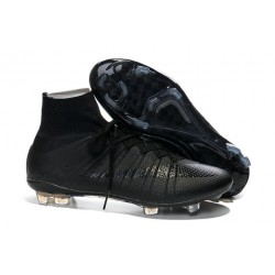 Nouveau Chaussure de Football Nike Mercurial Superfly CR FG Noir
