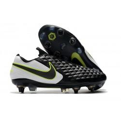Chaussures Nike Tiempo Legend 8 Elite SG-Pro AC Noir Blanc