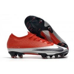Nike Future DNA Mercurial Vapor 13 Elite FG Rouge Argent Noir
