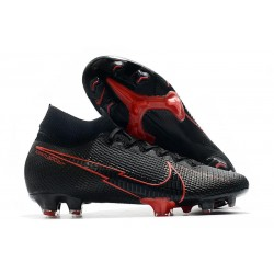 Nike Mercurial Superfly VII Elite 360 FG Noir Rouge