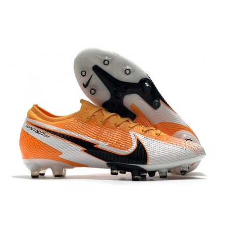 Nike Mercurial Vapor 13 Elite Pro-AG Daybreak -Orange Laser Noir Blanc