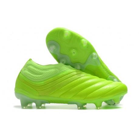 Chaussures Foot adidas Copa 20+ FG Vert