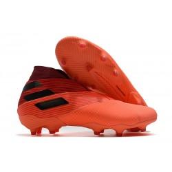 adidas Chaussures de Foot Nemeziz 19+ FG adidas Chaussures de Foot Nemeziz 19+ FG Corail Noir Rouge Goire
