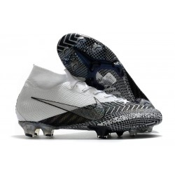 Nike Mercurial Superfly 7 Elite DF FG Dream Speed 3 - Blanc Noir