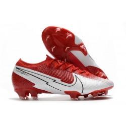 Nike Mercurial Vapor 13 Elite FG ACC - Rouge Blanc